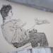 1988 Elle tire le tarot 9 x 8 Ink thumbnail
