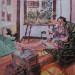 1988 Mina in Montreal 24 x 30 Acrylic thumbnail
