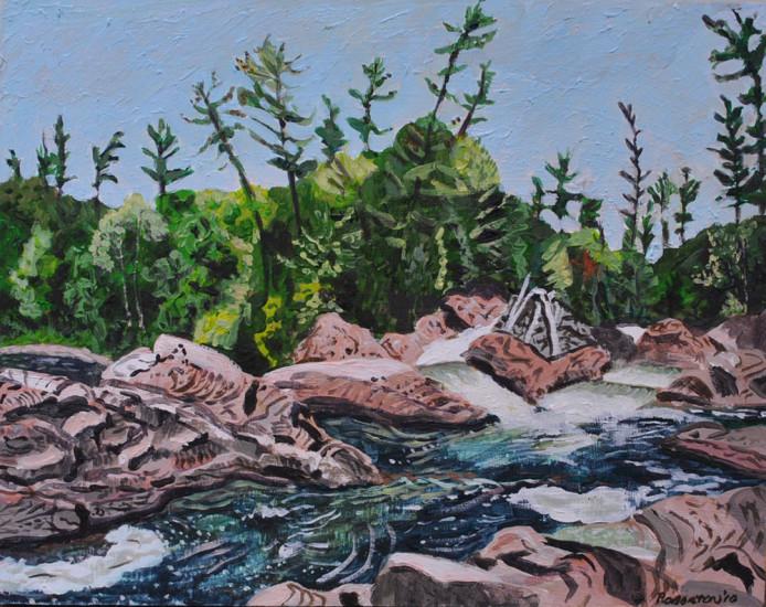2010 Chippewa Falls 12 x 16 Acrylic