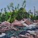 2010 Chippewa Falls 12 x 16 Acrylic thumbnail