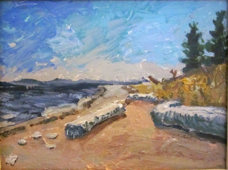 2012 Savary Island 10 x 12 Acrylic