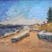 2012 Savary Island 10 x 12 Acrylic thumbnail
