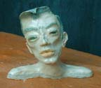 Michelle, 2006 Memory Vase Ceramic